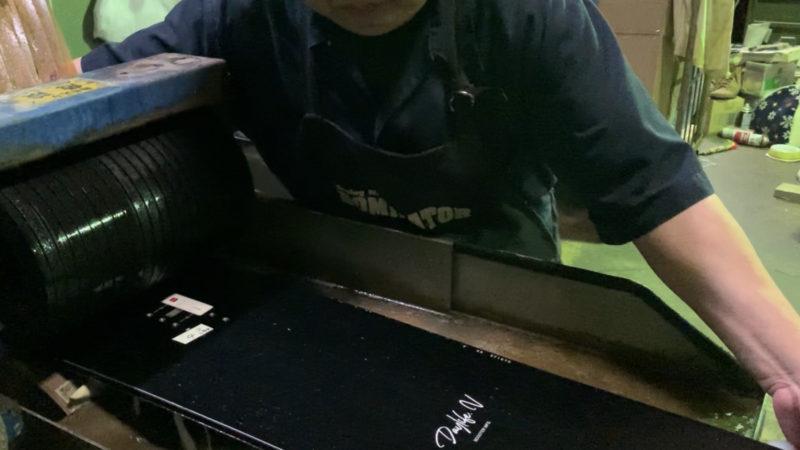 滑走面のストラクチャー加工