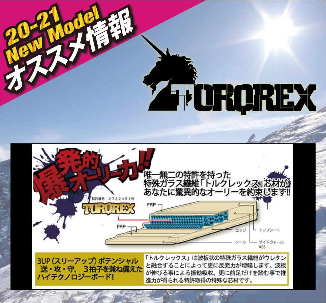 2021 TORQREX 新作情報