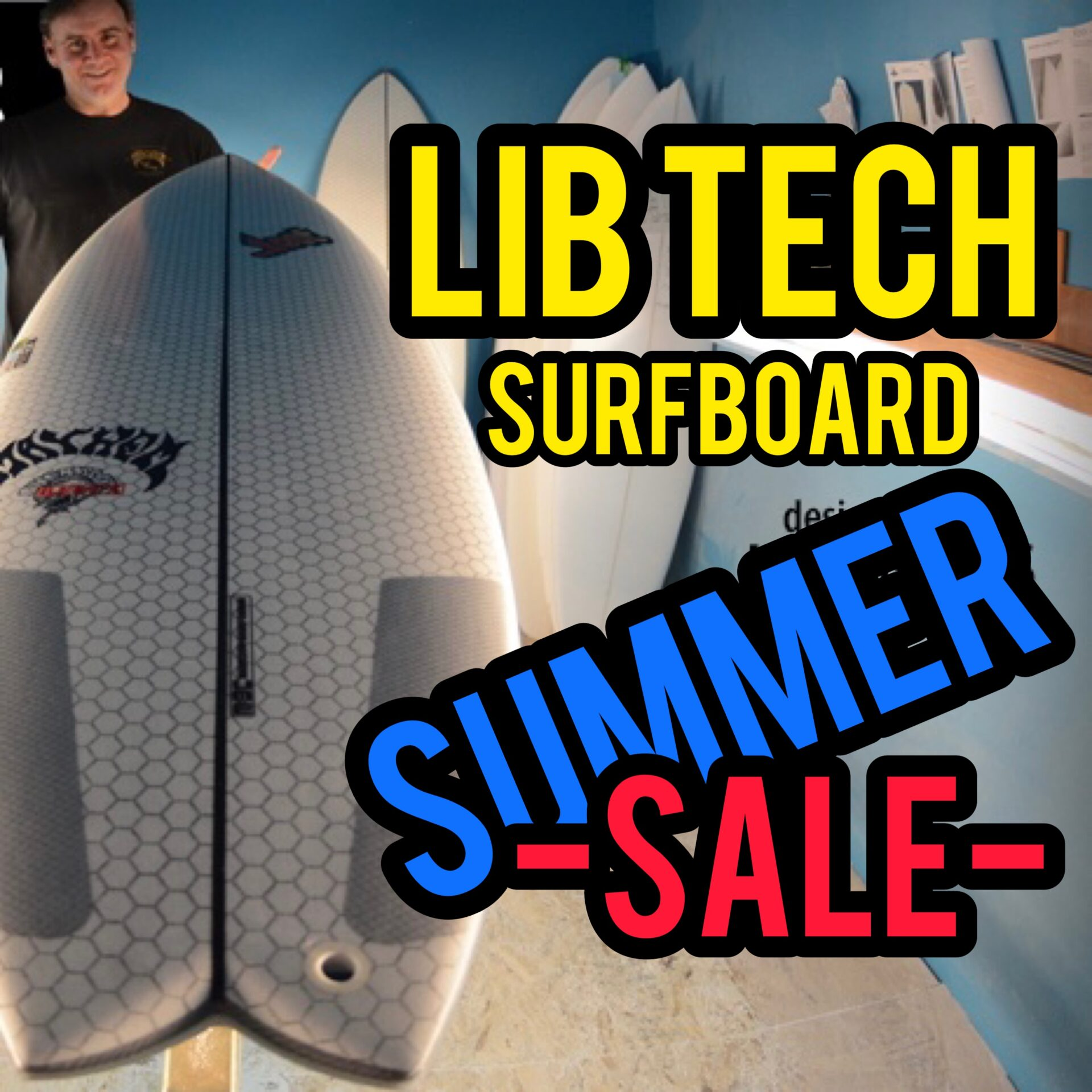LIBTECH SURFBOARD SUMMER SALE