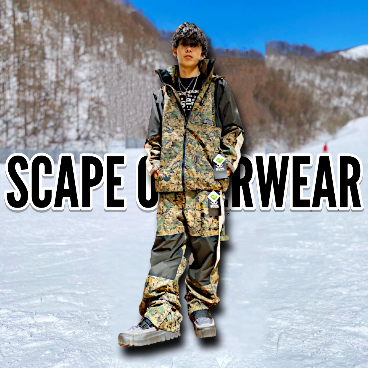 21-22 NEWモデルウェア SCAPE OUTERWEAR エスケープ